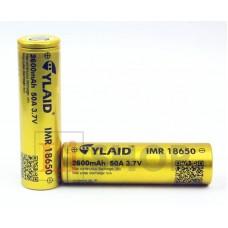 18650 CYLAID IMR18650 2600мАч 3,6В 50A промышленный Li-Ion аккумулятор высокой мощности