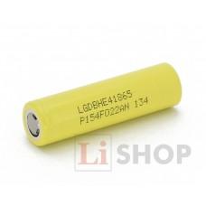 18650 LG ICR18650HE4 2500мАч 3,6В 20A промышленный Li-Ion аккумулятор высокой мощности